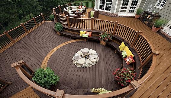 Sàn gỗ ngoài trời cao cấp