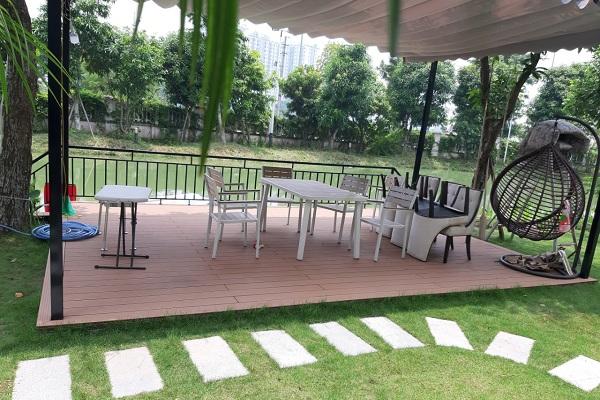 sàn gỗ sân vường Tecwood