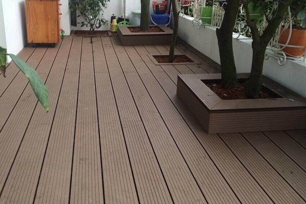 sàn gỗ nhựa tổng hợp ngoài trời