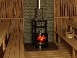 Ốp gỗ phòng xông hơi