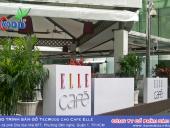 Công trình sàn gỗ TecWood cho Cafe Elle