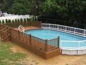 5 hàng rào hồ bơi