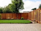 hảng rào gỗ tự nhiên