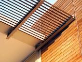mái che gỗ nhựa composite