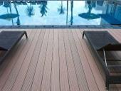 sàn gỗ bể bơi Hà Nội