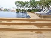 sàn gỗ ngoài trời chống trơn trượt