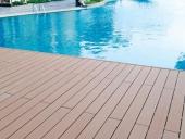 lắp đặt sàn gỗ bể bơi chung cư