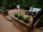 Sàn gỗ ngoài trời tại Ninh Bình