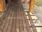 làm sàn gỗ ngoài trời