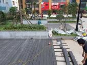Công trình lát sàn ngoài trời tại KĐT Kim Văn - Kim Lũ