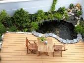 thiết kế sân vườn tiểu cảnh