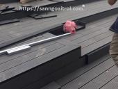 láp sàn gỗ ngoài trời
